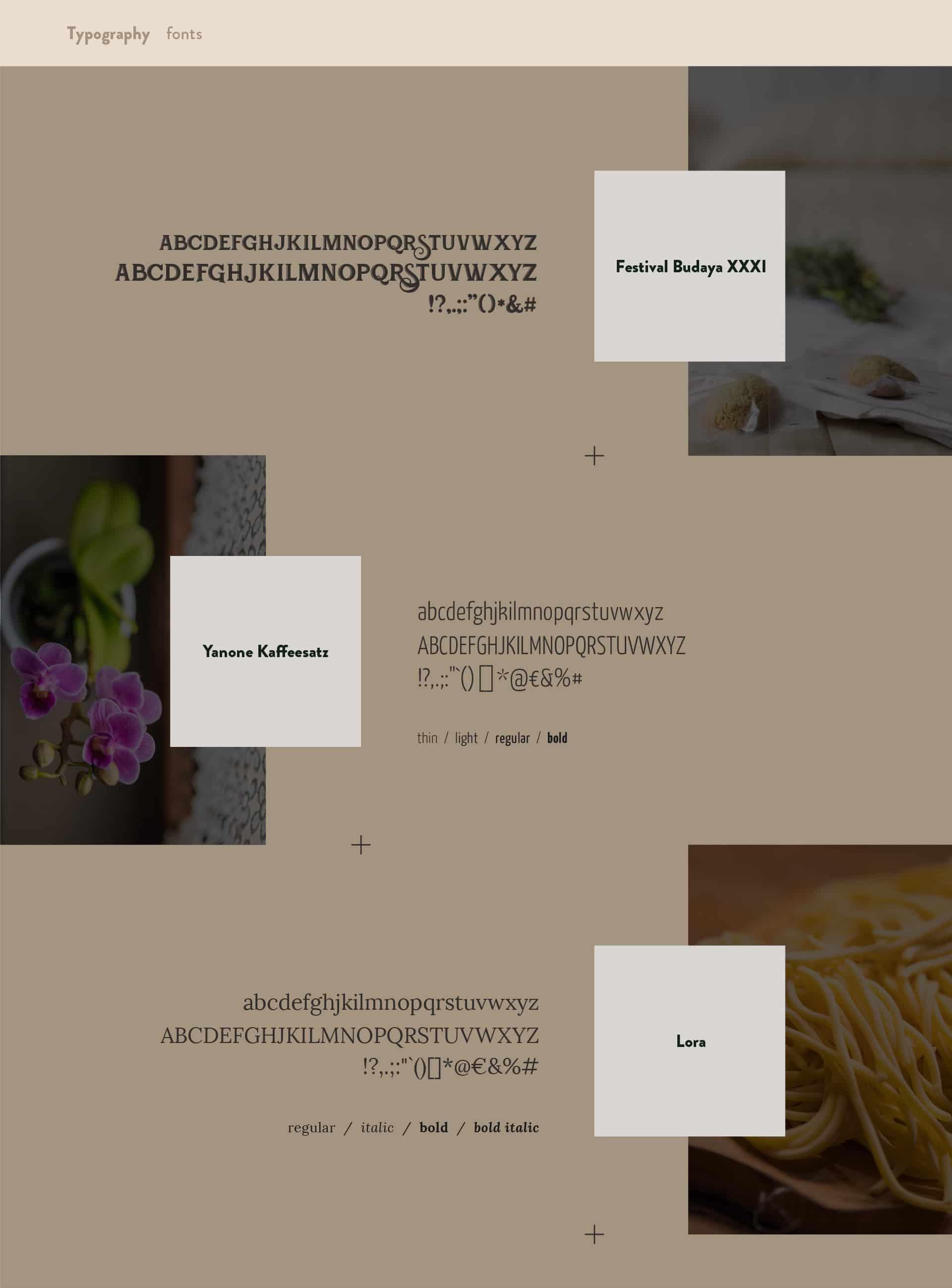 Wider View Portfolio il Rifugio Del Pastore Fonts