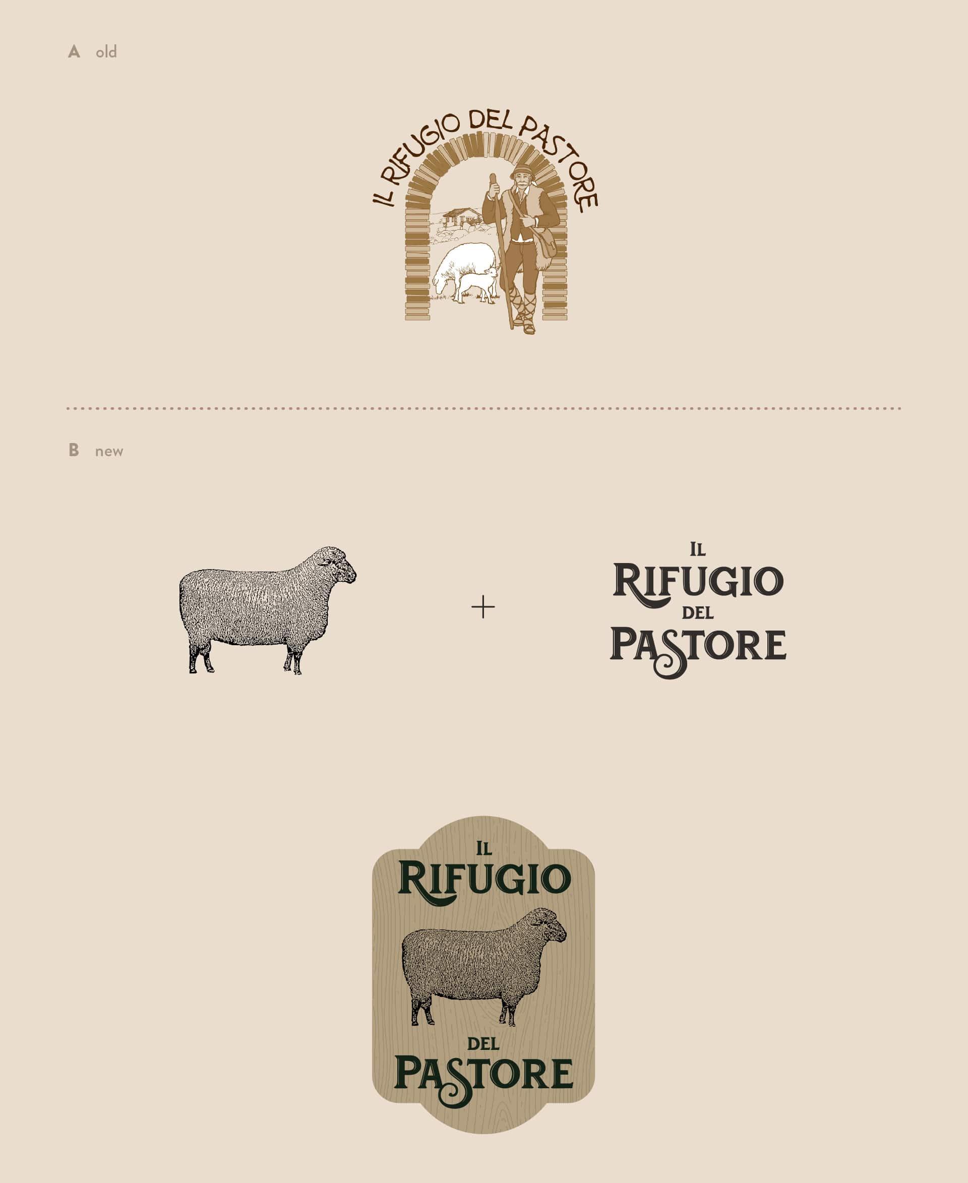 Wider View Portfolio il Rifugio Del Pastore Logo